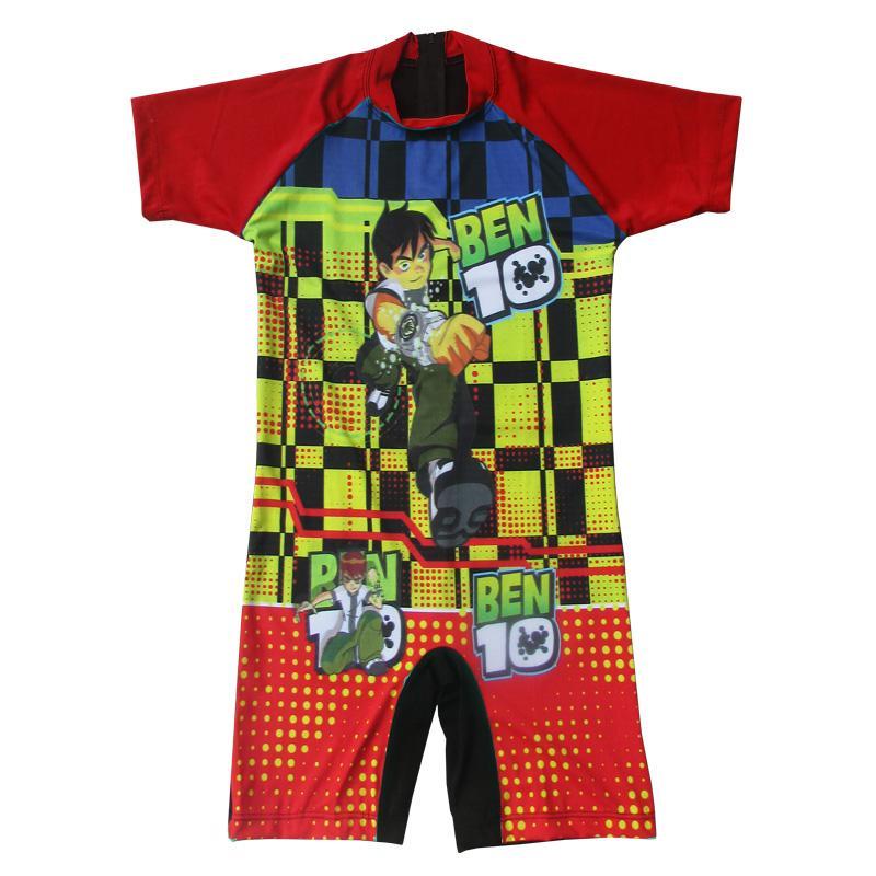 Baju Renang Diving Anak Karakter Ben10 Size SD