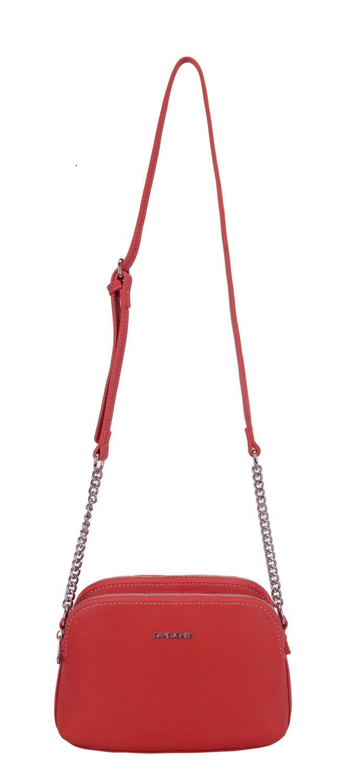 DAVIDJONES 5740-2 Tas Selempang Bahu Shoulder Crossbody Kulit Import Wanita