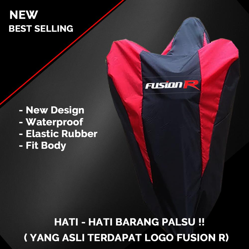 Cover Motor / Sarung Motor / Penutup Motor Warna Universal Fusion R By Cassie Store.