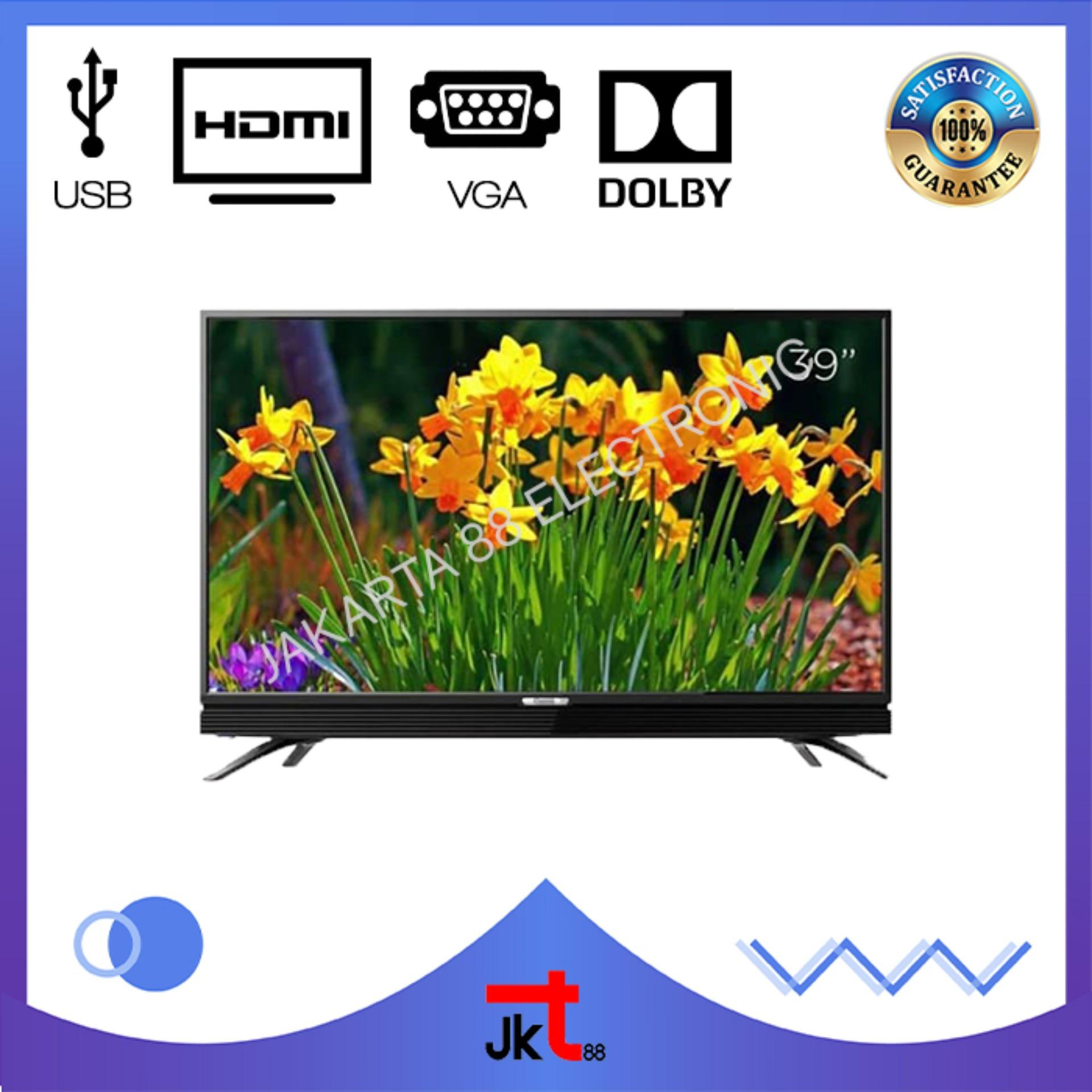 COOCAA LED TV 39 INCH USB MOVIE HDMI VGA 39W3