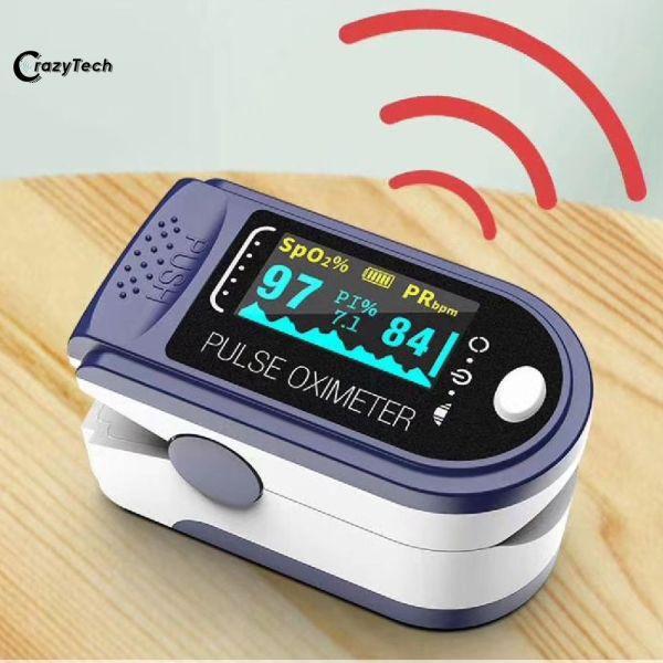 CrazyTech[hot sale] omron Digital Finger Oximeter Blood Oxygen Saturation Pulse Oximeter Finger Saturometer Medical SpO2 PR Heart Rate Monito oximeter blood oxygen