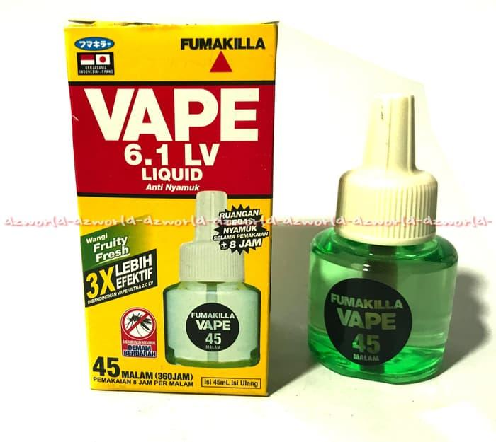 Terbaru - Refill Vape Liquid 6.1 Lv Isi Ulang Nyamuk Elektrik Listrik Vape 45Mlm - ready stock
