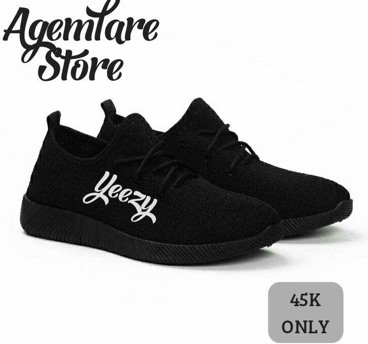 Rk Sepatu Sneaker Yz Abu - Daftar Harga Terlengkap Indonesia 42f2d042fb