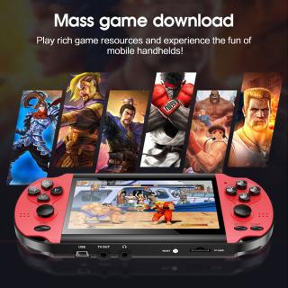 Máy Chơi Game HiLevel X1 4.3 Inch, Máy Chơi Game Lắc Kép Cổ Điển Hoài Cổ Máy Chơi Game Cầm Tay Siêu Nhân Tích Hợp 10,000 Trò Chơi 8G Máy Chơi Game Cầm Tay thumbnail