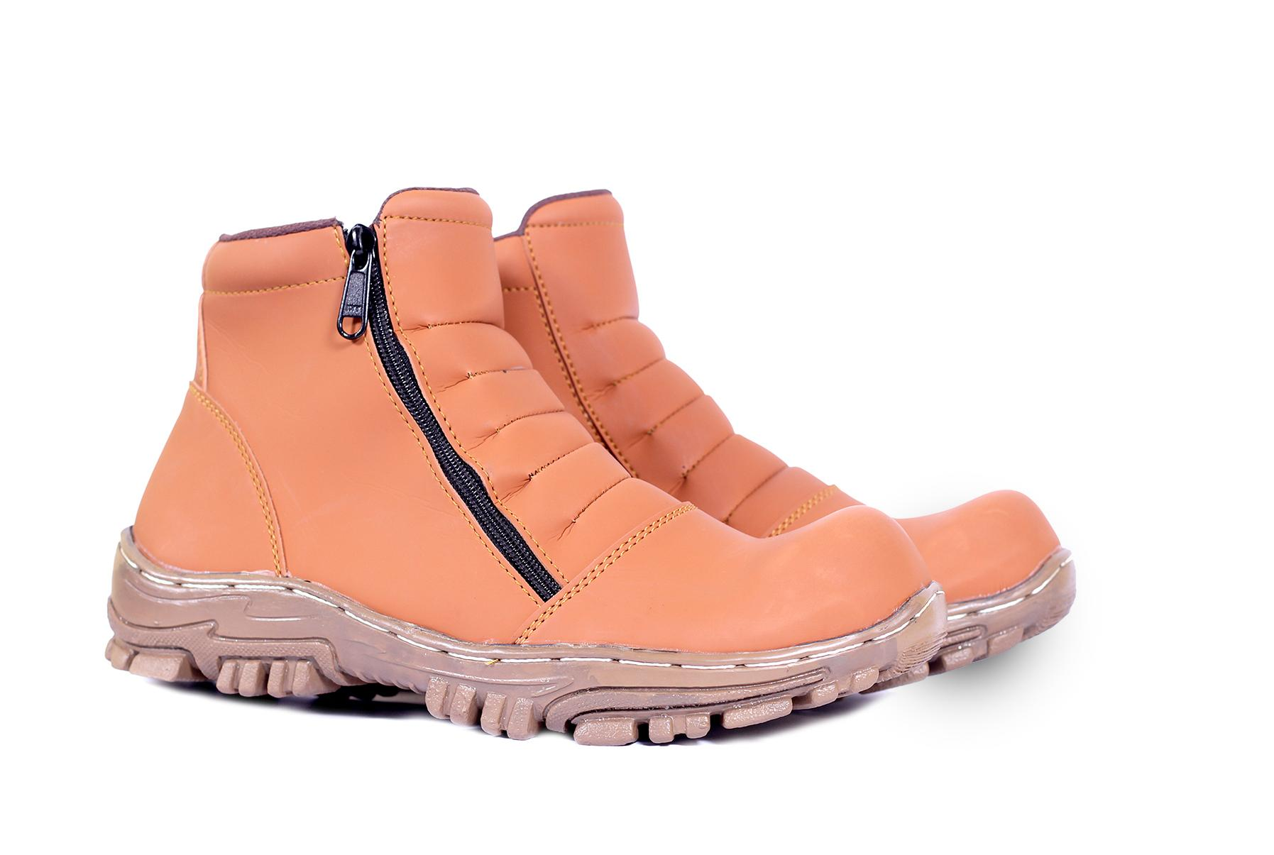 Sepatu Pria Elastico Men Boots Work & Safety Boots Sepatu Pria Klasik Boots Murah