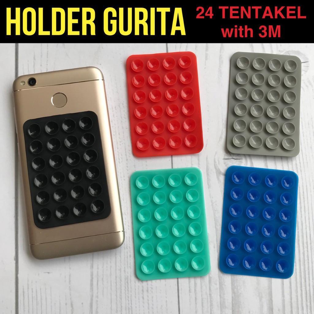 Rp 3.000. Gurita HP 24 Tentakel FREE SIM CARD EJECTOR - Tempelan Holder Universal Untuk HP ...