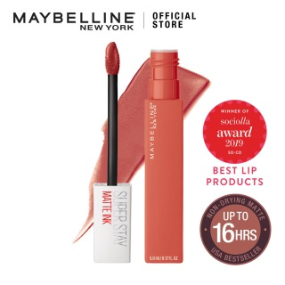 Grosir Kosmetik Ori Maybelline Superstay Matte Ink Liquid Matte Lipstick Make Up Lipstik Matte Tahan Lama Hingga 16 Jam Longwear COD Promo Murah Best Seller thumbnail