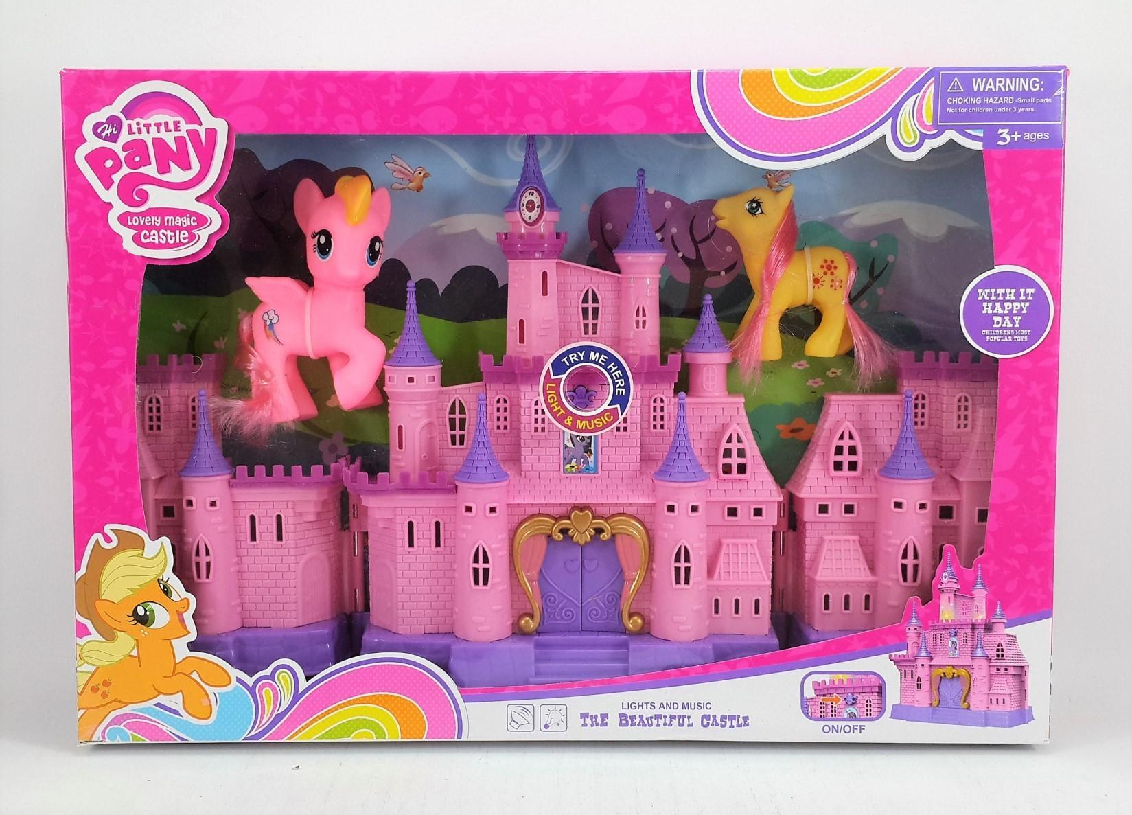 Mesh Mainan Anak Perempuan My Little PONY LOVELY MAGIC CASTLE - Mainan  rumah Istana My Little e6d734941a