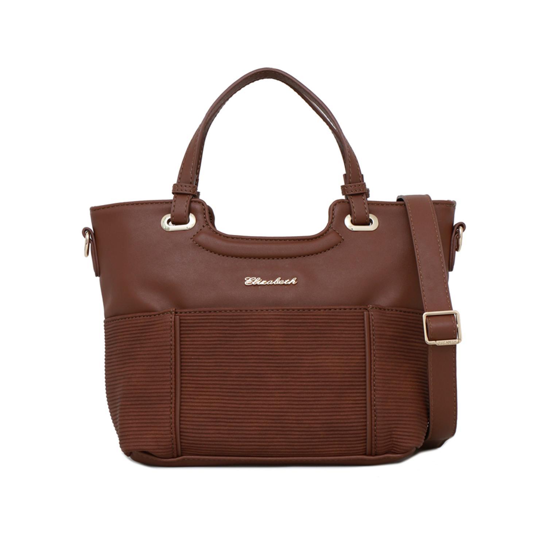 Tas Wanita Elizabeth Bag Fredella Handbag Brown