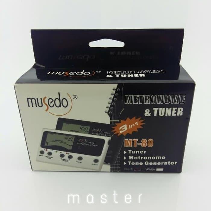 Tuner Gitar / bas / ukulele / biola Musedo MT 30. 128.000 · Metronome Tuner Musedo MT80
