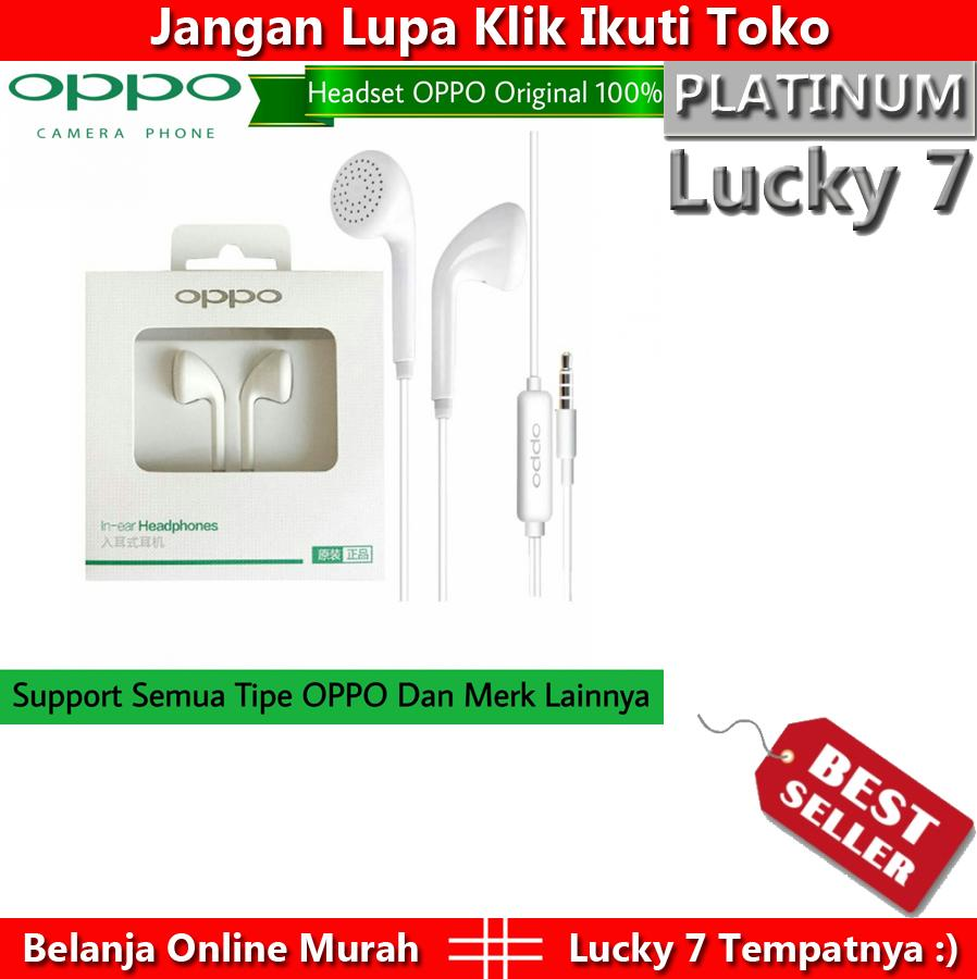 Harga Promo Headset OPPO MH113 Original Universal For All Smartphone 1 Pcs