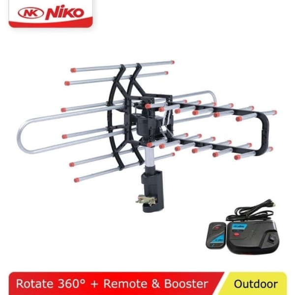 NIKO Antenna TV Remote NK-950C ANTENA OUTDOOR REMOT FREE KABEL 10 M
