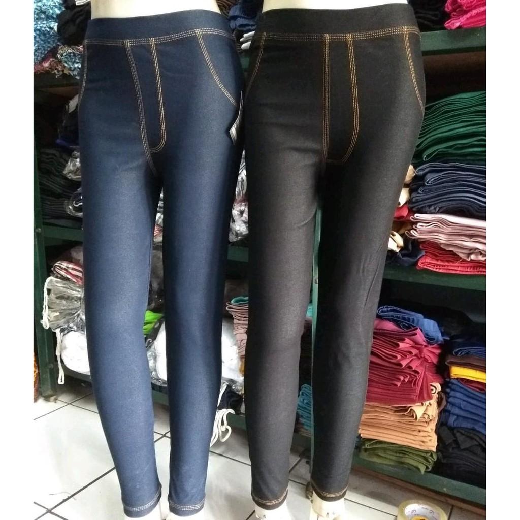 Terbaru Celana Legging Levis Panjang Wanita Lis Benang Kuning Bahan Denim Tebal Dan Adem Lejing Levis Lazada Indonesia