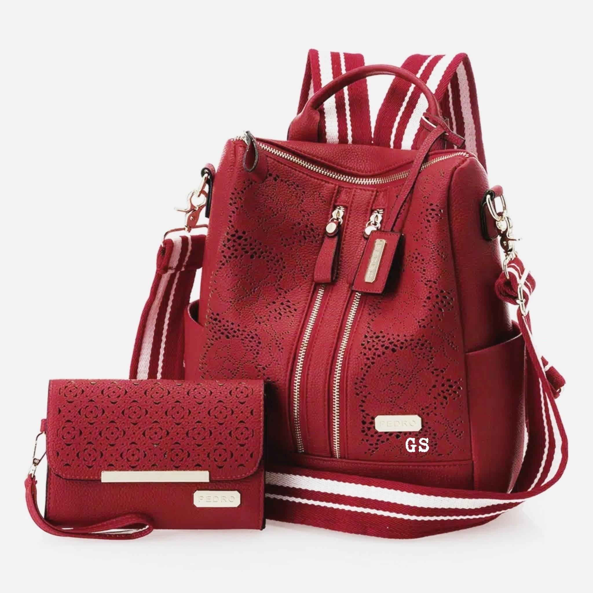 Tas Ransel Backpack dan Selempang RAISSA 2 IN1 TERBARU-WANEVA 60095d6c76