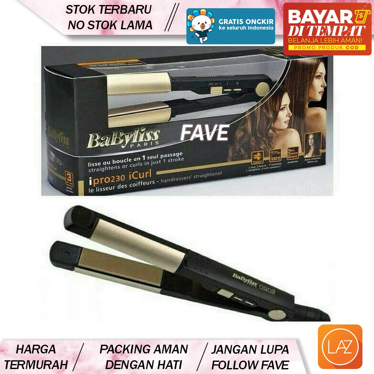 Fave COD -  2 IN 1 IPRO 230  Catok Rambut Babyliss i230   Catokan acd7d904bc