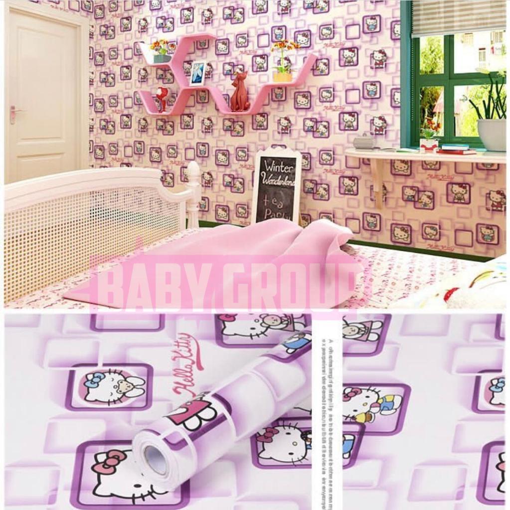 Unduh 630 Koleksi Wallpaper Dinding Hello Kitty Ungu Gratis Terbaru