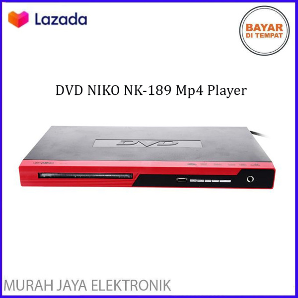 DVD NIKO NK-189 DVD Mp4 Player Optic : SAMSUNG - Berkualitas