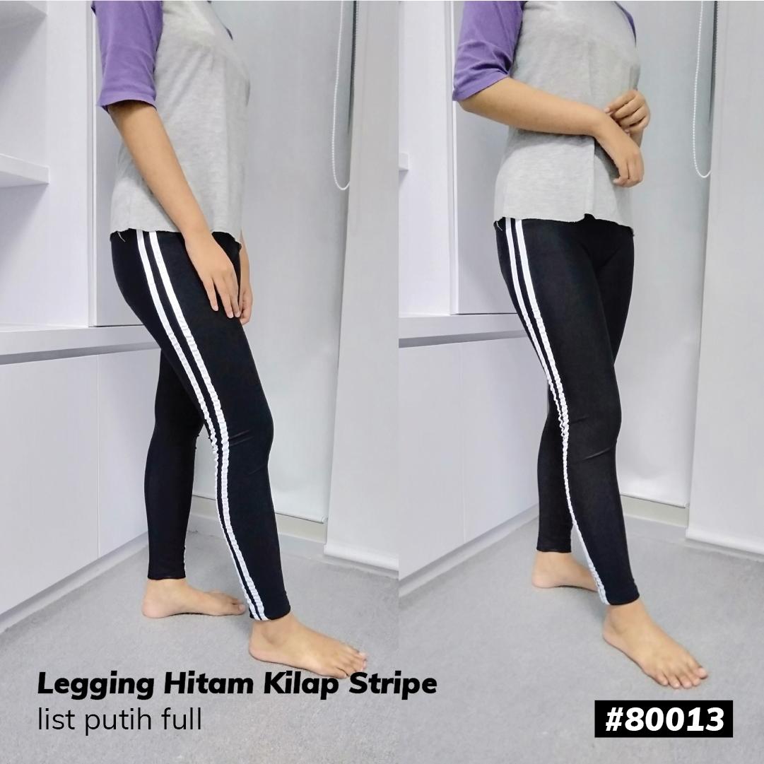 Celana Legging List 2 Putih Murah Lazada Indonesia