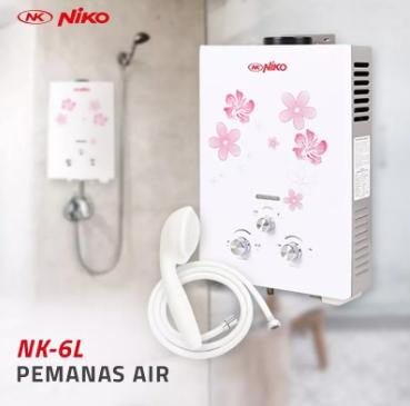 Pemanas Air Niko Gas Water Heater 6ln By Galeri Rumahku.