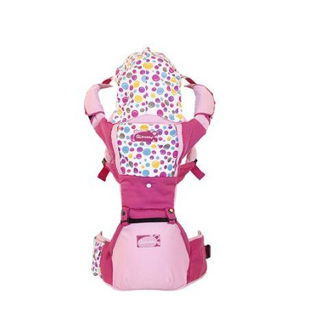 GENDONGAN BAYI DEPAN SNOBBY HIPSEAT 6 POSISI MOTIF HAPPY BUBBLE TPG2245 / Junior Baby Shop1