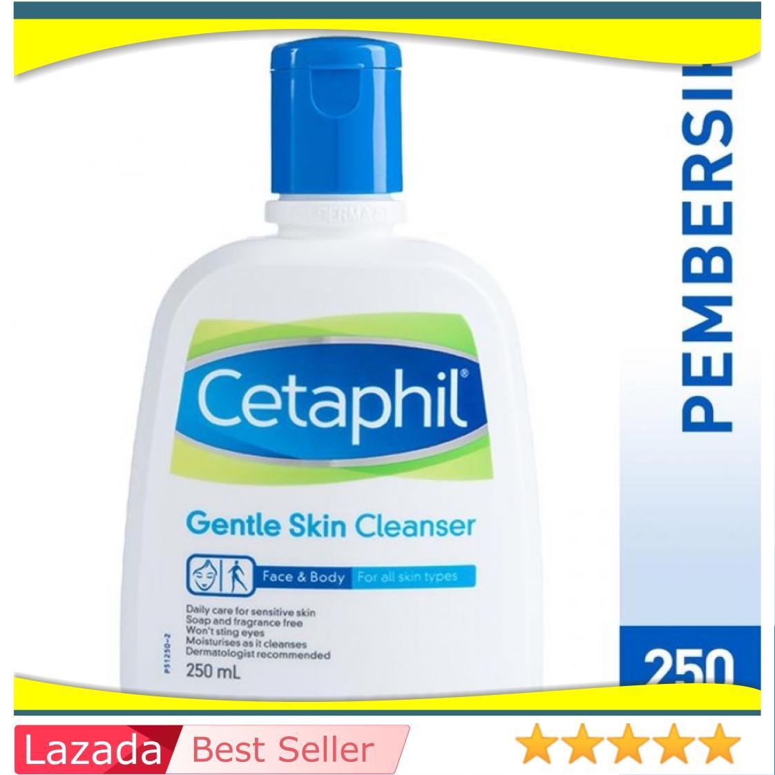 Cetaphil Gentle Skin Cleanser 250 Ml / Produk Kecantikan Mandi Perawatan Tubuh Sabun Badan / Kesehatan Kecantikan / Perawatan Tubuh / Sabun Mandi Sampo / Sabun Cair