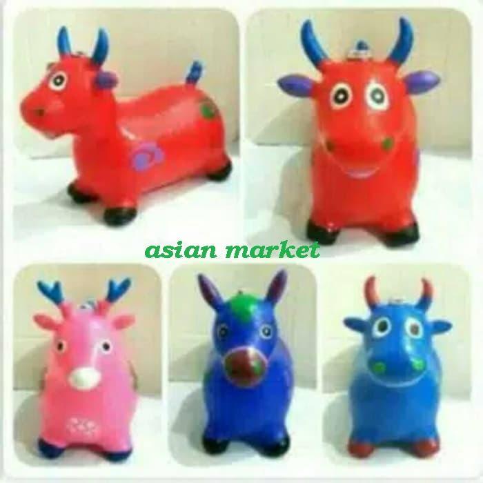 2b102 Animal Jumping Mainan Anak Tunggangan Kuda Ada Musik By Asian Market.