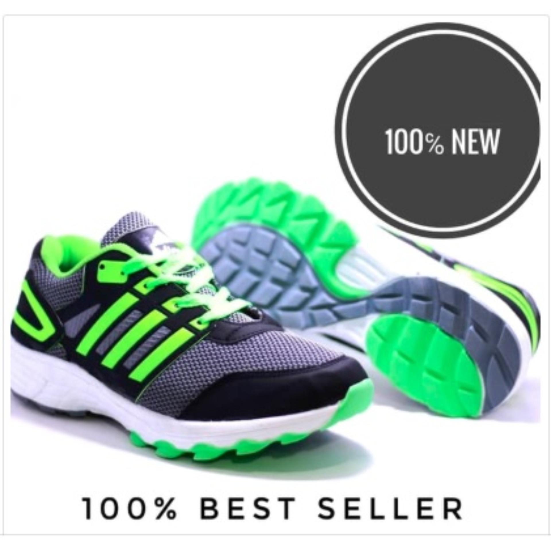 749ec6ab036d Adinova Shoes Sepatu Sport Pria Sepatu Sneaker Pria   Sepatu Olahraga Sepatu  Lari