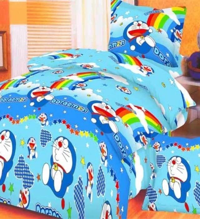 Rosewell Bedcover Microtex Disperse + Sp 180x200cm - Doraemon  sprei kintakun my love kintakun 180x200 bonita polos lady rose katun jepang waterproof 160x200 bed cover set california