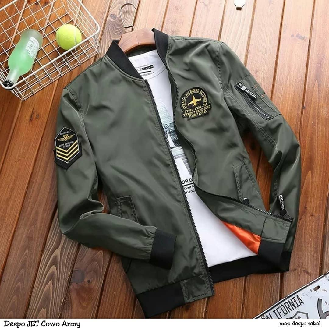 47 Model Jaket Pria Bomber HD Terbaru
