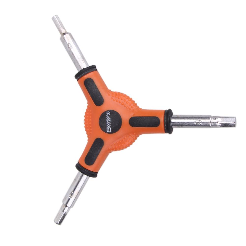 Bike Bicycle Cycling 3 Way (Y Type) Hex Allen Wrench Tool Size 4 5 6mm