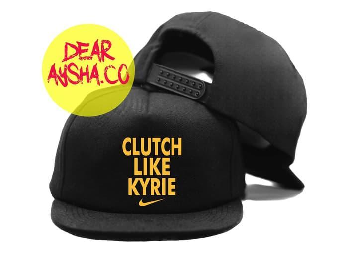 Snapback hat basket clutch like kyrie cavs - dear aysha