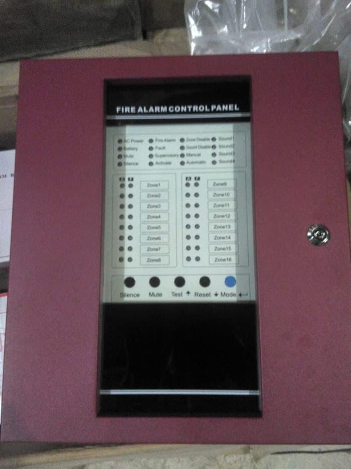 8 zones Conventional Fire Alarm Control Panel
