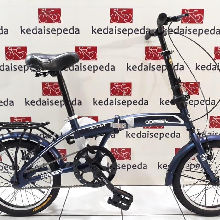 DISKON  Sepeda Lipat anak-anak & dewasa 20 odessy 2035 1 speed