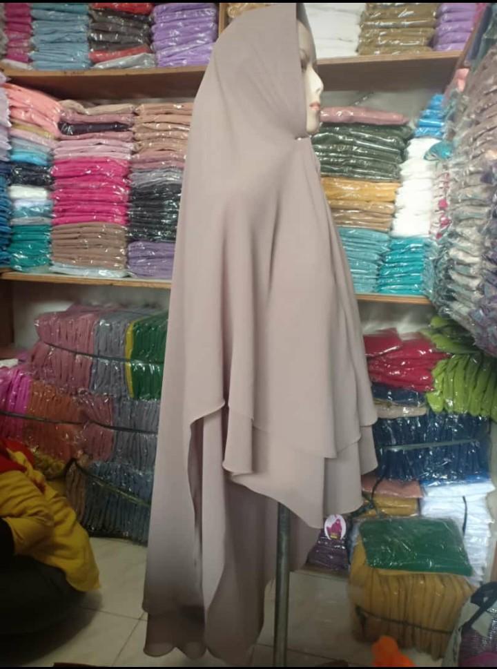 Hijab/Jilbab Instan Model Bergo terbaru termurah dan Terlaris / Kerudung Wanita 2 layar jumbo kanaya manjo terbaru
