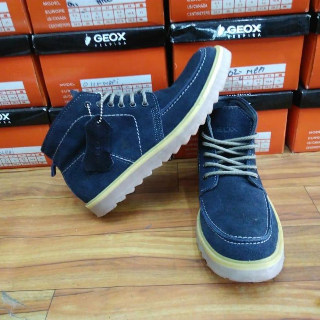 Nur iLLahi Collection-Sepatu kulit pria GEOX 1504 terbaru PREMIUM QUALITY(banyak  pilihan warna fb561b43ec