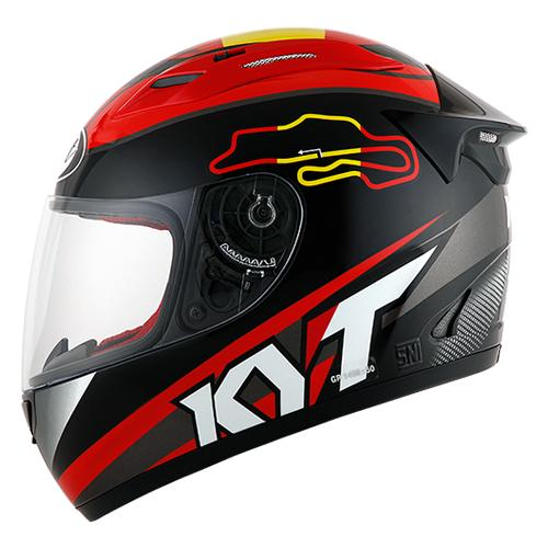 HELM KYT RC SEVEN SERI 15 RED BLACK