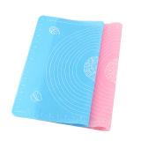 Harga Termurah 1 Pcs 40X50 Cm Ukuran Besar Silicone Cake Adonan Pastry Fondant Rolling Cutting Mat Baking Pad Baker Alat Pink Biru