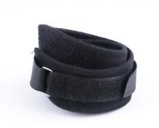 Spek 2 Pcs Sports Knee Compression Sleeve Patella Kneecap Coverage Black