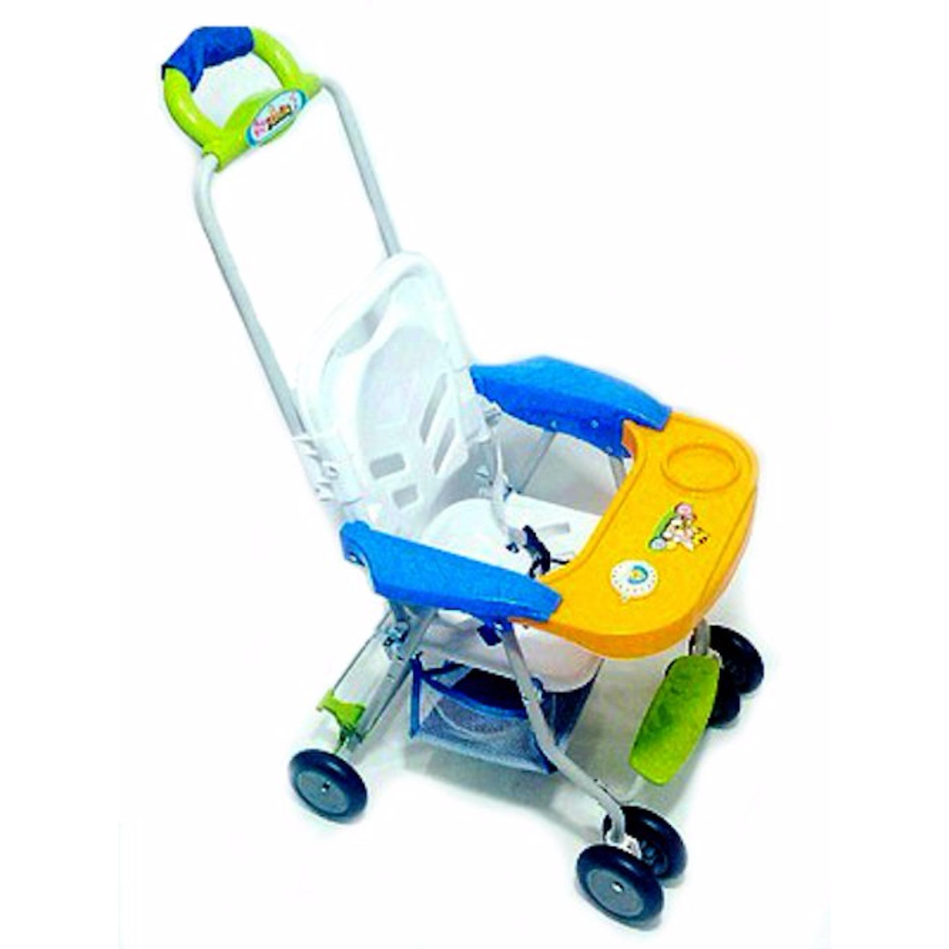 Jual Baby Walker Roda Bayi Kursi Bayi Dengan Stroller Fc 8288 Original