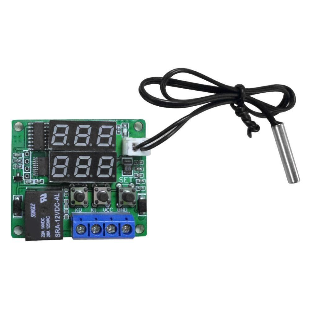 Harga 50 120 Degrees Digital Temperature Controller Thermostat Dc 12V Switch Sensor Intl Baru