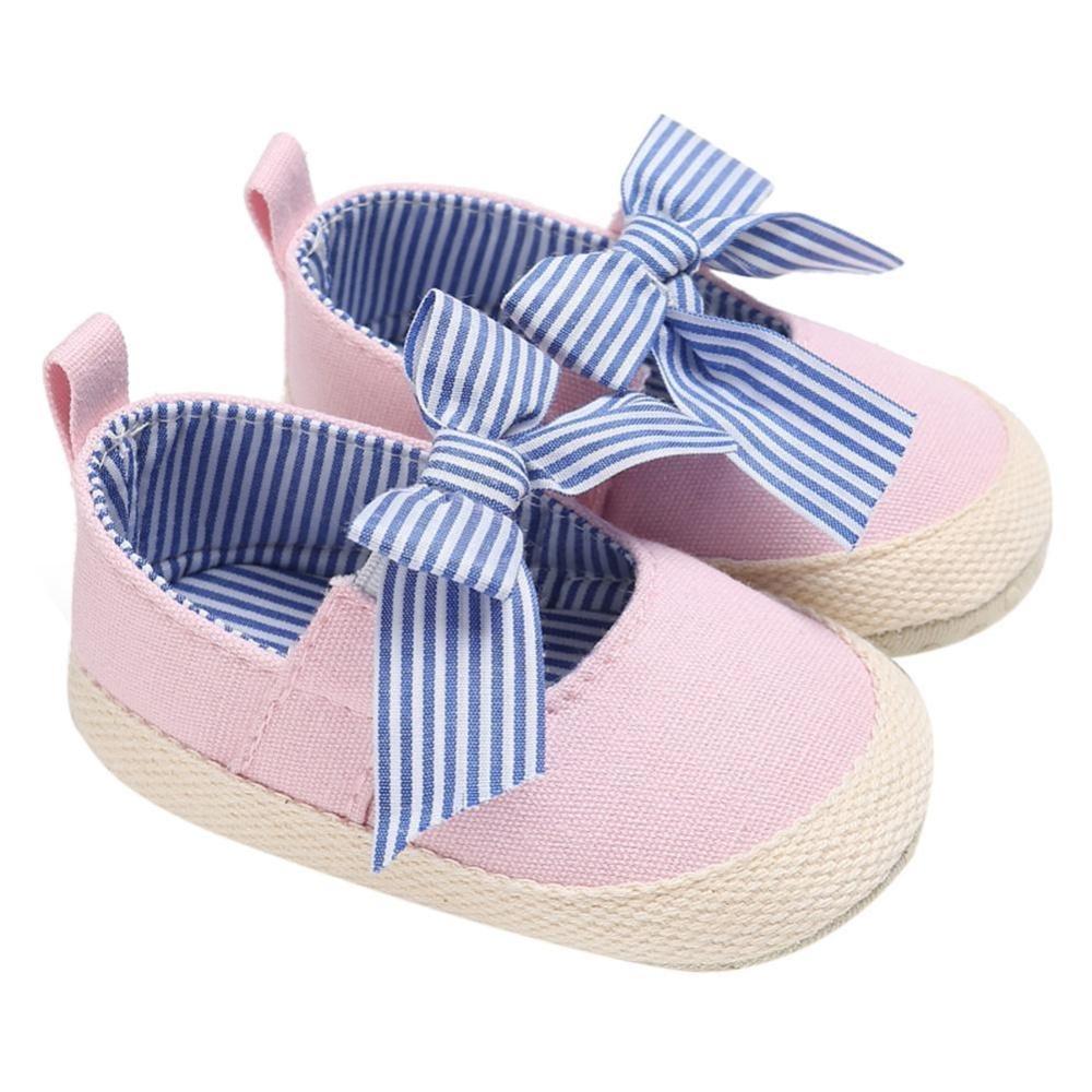 Rp 55.000 0-1Year Tua Bayi Sepatu Kanvas Sepatu Bayi Balita Sepatu Bayi Prajalan (Berwarna Merah ...