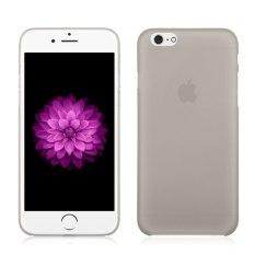 0.3mm Ultra Tipis Semi Transparan Clear Matte Case untuk IPhone 6/6 S 4.7 (Abu-abu) (LUAR NEGERI)-Intl