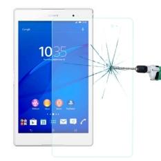 0.4mm 9 Jam + Kekerasan Permukaan 2.5D Ledakan-bukti Temper Kaca Film FOR Sony Xperia Z3 Tablet & Tangan)