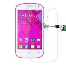 0.26mm 9 H + Kekerasan Permukaan 2.5D Explosion-proof Tempered Kaca Film untuk Alcatel One Touch POP C3 -Intl