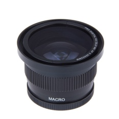 0.35X52mm Super Fisheye Wide Angle Lens untuk 52mm DSLR D7000 D7100 D5200 D5100 D5000 D3100 D3000 D90 D40 D60 dengan 18-55mm