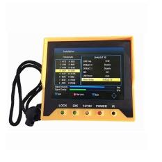 0.6KG Newest KRT-356H 3.5Inch Handheld DVB/S/S2 Satellite Finder 1080P Menu-language
