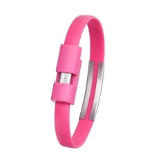 0.72 Ft Mini Flat Bracelet Micro USB 2.0 Sync And Charging DataCable
