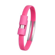 0.72 Ft Mini Flat Bracelet Micro USB 2.0 Sync And Charging DataCable  - intl