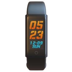 Promo 96In Oled Touch Screen Fitness Tracker Smart Bracelet Wristband Black Intl Akhir Tahun