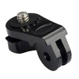 Harga 1 4″ Tripod Connector Mount Adapter For Gopro Xiaomi Yi Camera Dolphin Baru